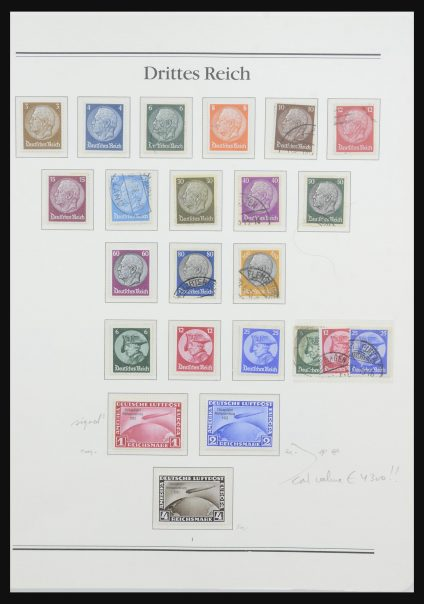 Stamp collection 32019 German Reich 1933-1945.