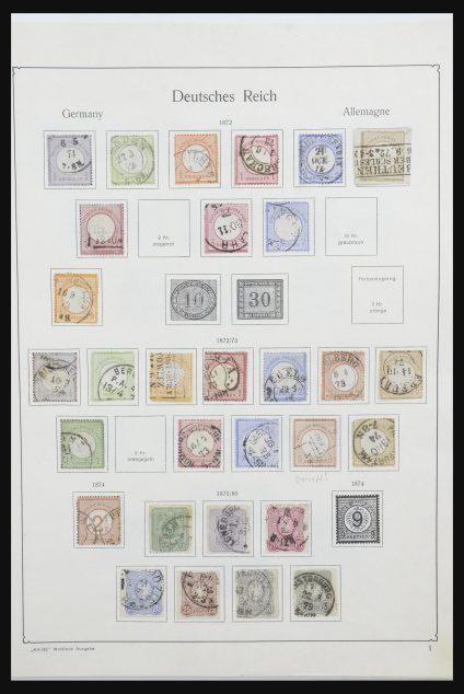 Stamp collection 32021 German Reich 1872-1941.