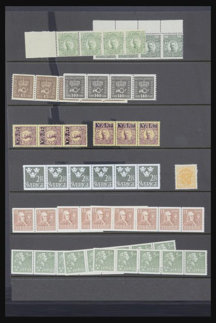 Stamp collection 32039 Sweden 1910-1985.