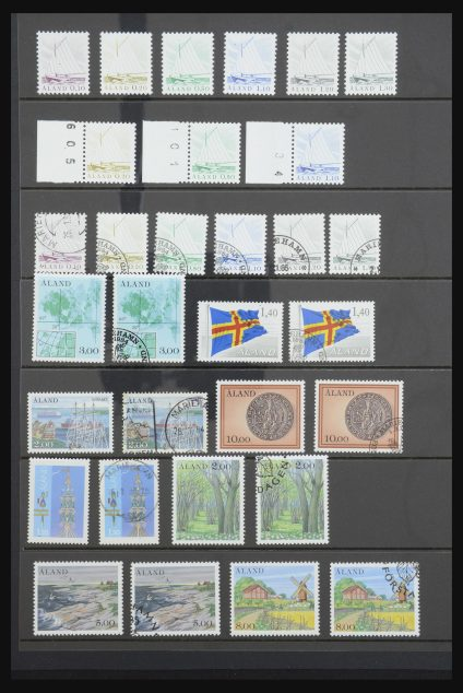 Stamp collection 32040 Aland 1984-2018!