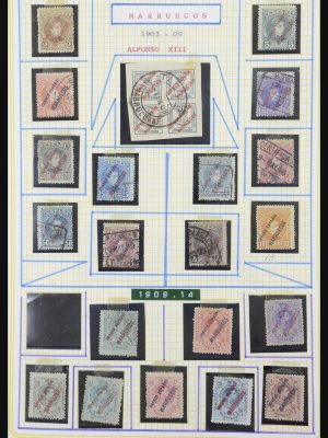 Stamp collection 32051 Morocco 1900-1966.