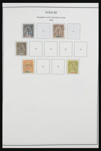 Stamp collection 32054 Madagascar 1892-1976.