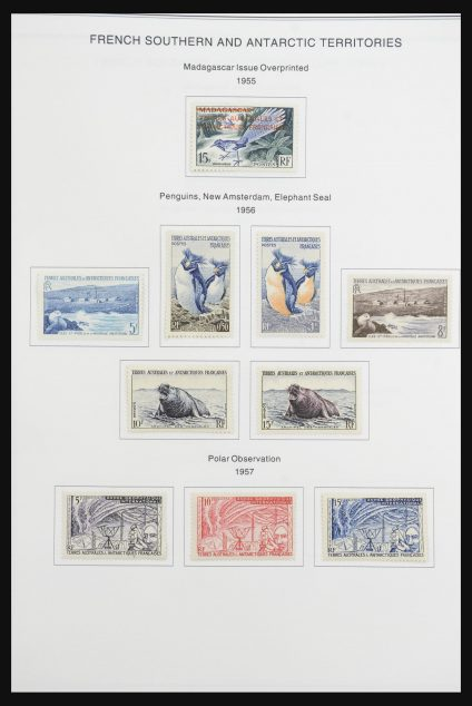 Stamp collection 32062 TAAF 1948-1994.