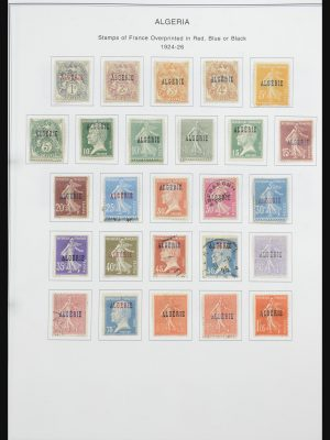 Stamp collection 32063 Algeria 1924-1958.