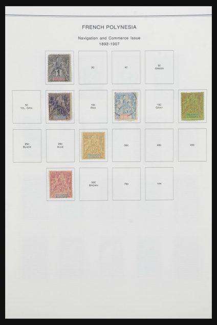 Stamp collection 32066 Oceania/Polynesia 1892-1996.