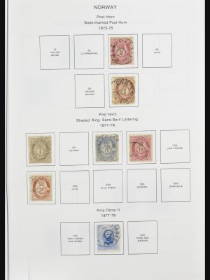 Stamp collection 32069 Norway 1863-2011.