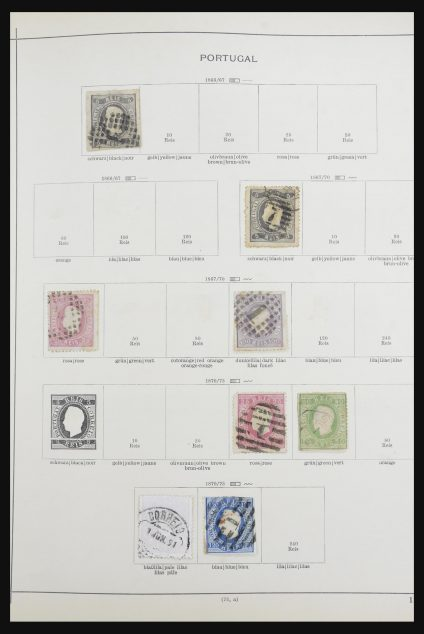 Stamp collection 32070 Portugal and colonies 1857-1953.