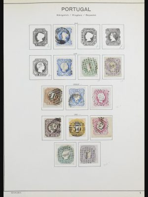 Stamp collection 32084 Portugal 1853-1984.