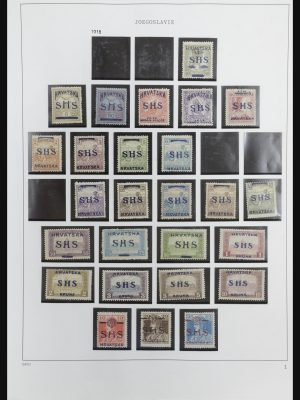 Stamp collection 32085 Yugoslavia 1918-1992.