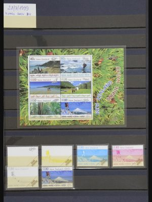 Stamp collection 32087 New Zealand 1999-2010.