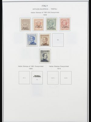 Stamp collection 32091 Italian colonies 1909-1985.