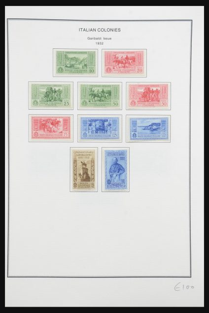 Stamp collection 32092 Italian colonies 1923-1950.
