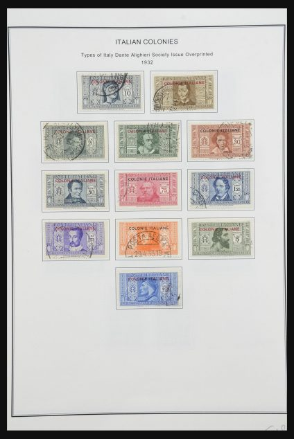 Stamp collection 32093 Italian colonies 1923-1950.