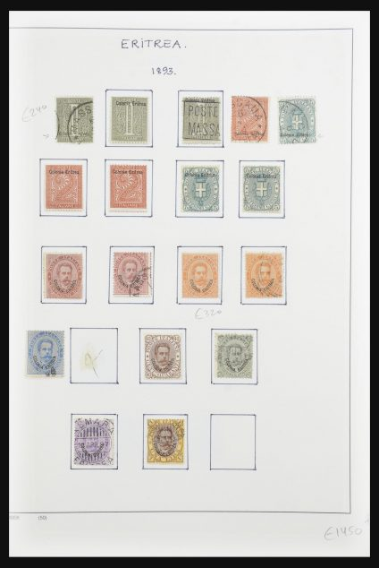 Stamp collection 32102 Italian colonies 1893-1940.