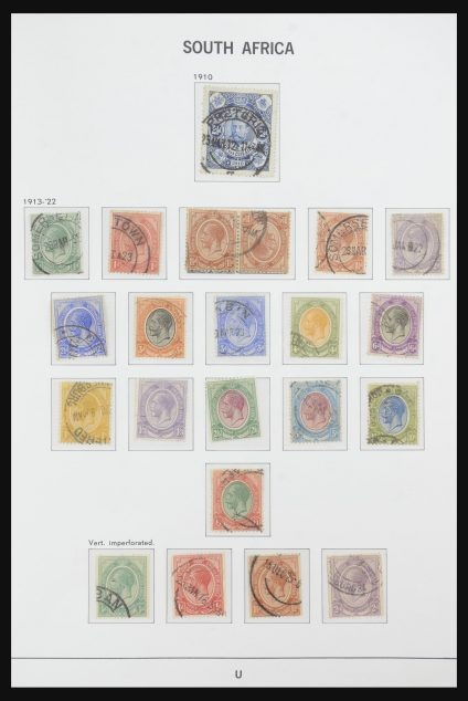 Stamp collection 32108 South Africa 1910-2006.