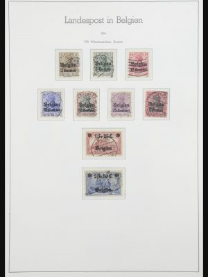 Stamp collection 32112 German territories 1914-1920.