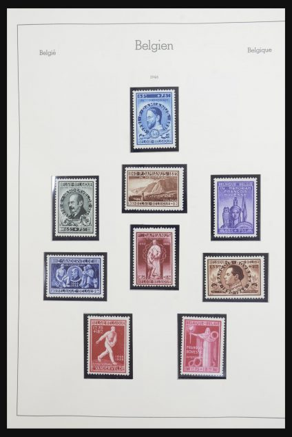 Stamp collection 32114 Belgium 1946-1992.