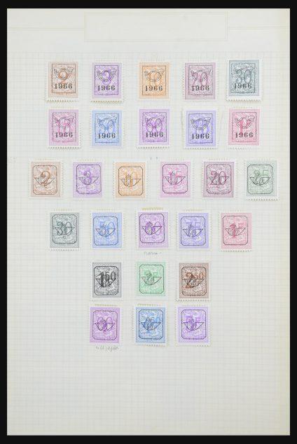 Stamp collection 32124 Belgium precancels 1895-1967.