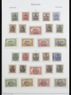 Stamp collection 32125 German territories 1919-1959.