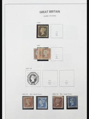 Stamp collection 32128 Great Britain 1840-1999.