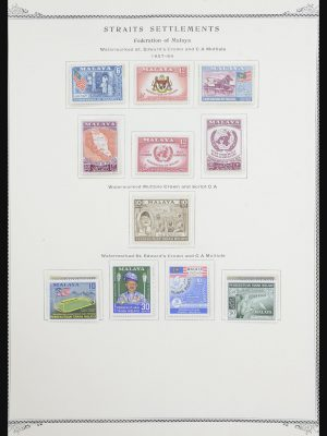 Stamp collection 32137 Malaysia 1957-1983.