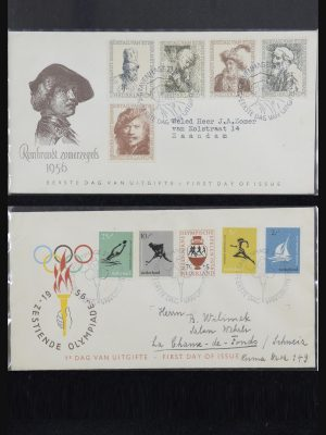 Stamp collection 32147 Netherlands FDC's 1956-2016!