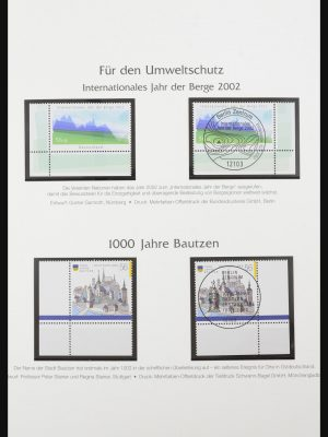 Stamp collection 32148 Germany 2002-2011.