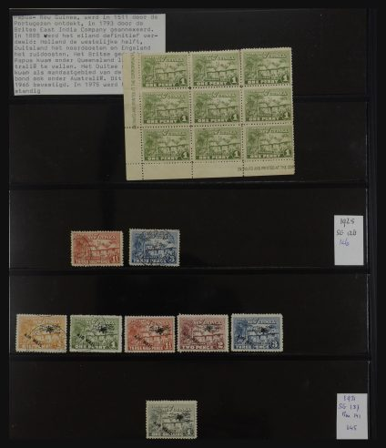 Stamp collection 32090 New Guinea and N.W. Pacific 1925-1935.