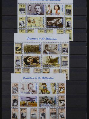 Stamp collection 32131 Millennium 2000.