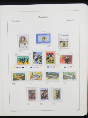 Stamp collection 32132 Australia 1980-1995.