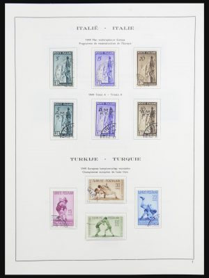 Stamp collection 32136 Europa CEPT 1949-1998.