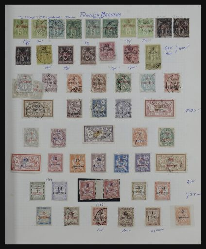 Stamp collection 32141 Morocco 1891-1993.