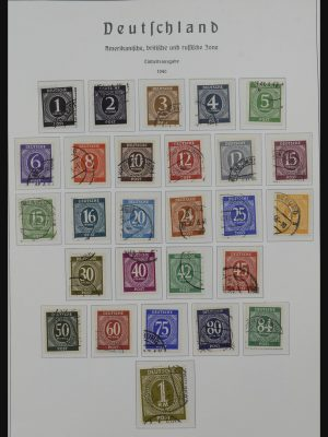 Stamp collection 32153 Germany 1945-1980.