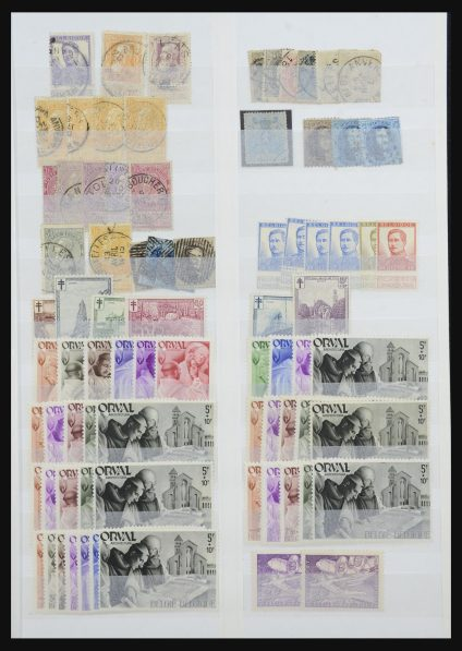 Stamp collection 32156 Belgium 1855-1965.