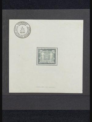 Stamp collection 32158 Belgium souvenir sheets 1930-1941.