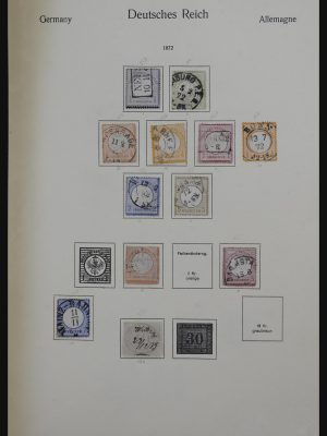 Stamp collection 32162 Germany 1850-1950.