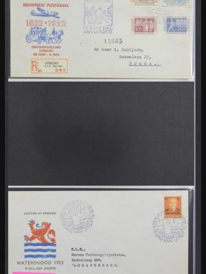 Stamp collection 32170 Netherlands FDC's 1953-2004.