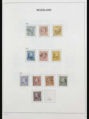 Stamp collection 32171 Netherlands 1852-1969.