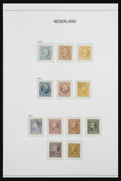 Stamp collection 32172 Netherlands 1852-1969.