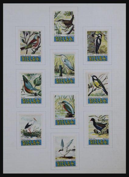 Stamp collection 32176 Netherlands match brands.