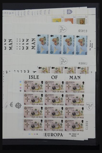 Stamp collection 32179 Isle of Man 1976-1993.