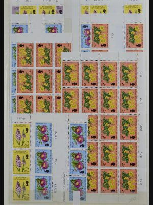 Stamp collection 32180 Guernsey 1972-1992.
