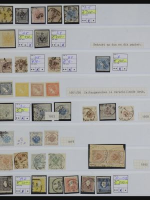 Stamp collection 32183 Austria 1850-1958.