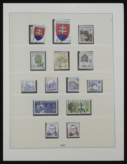 Stamp collection 32189 Slovakia 1993-2016.
