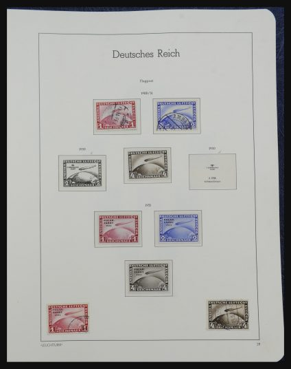 Stamp collection 32190 German Reich 1872-1945.