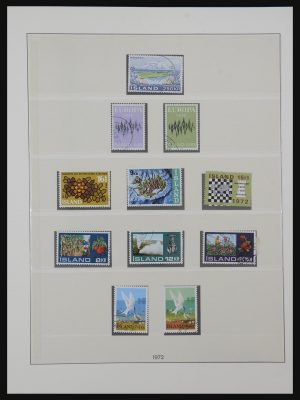 Stamp collection 32196 Iceland 1972-2012.