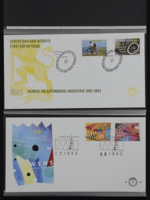 Stamp collection 32202 Netherlands FDC's 1993-2018.