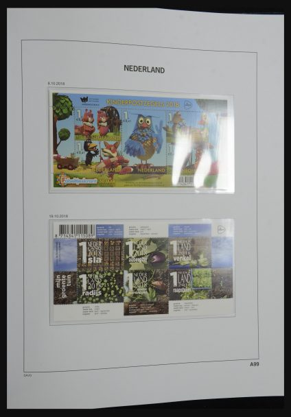Stamp collection 32203 Netherlands 1970-2018.